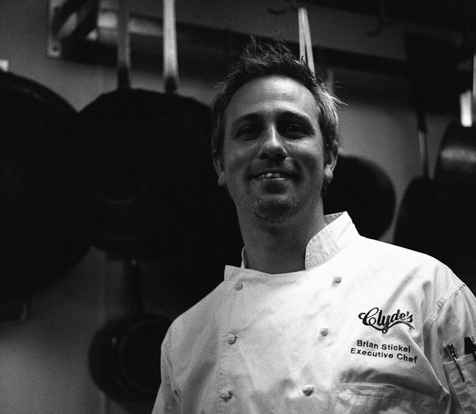 """I don't diet."" – Brian Stickel, Executive Chef, Clyde's of Georgetown – Part I"