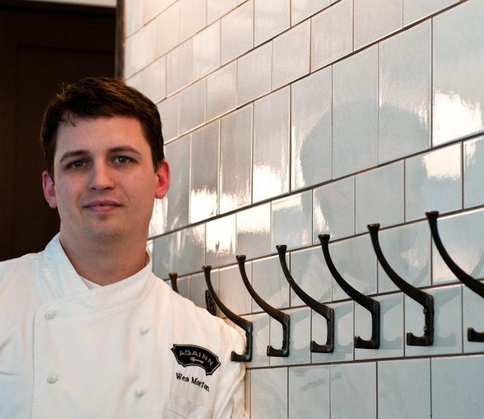 """Patience. It's a virtue."" – Wes Morton, Executive Chef, AGAINN – Part I"