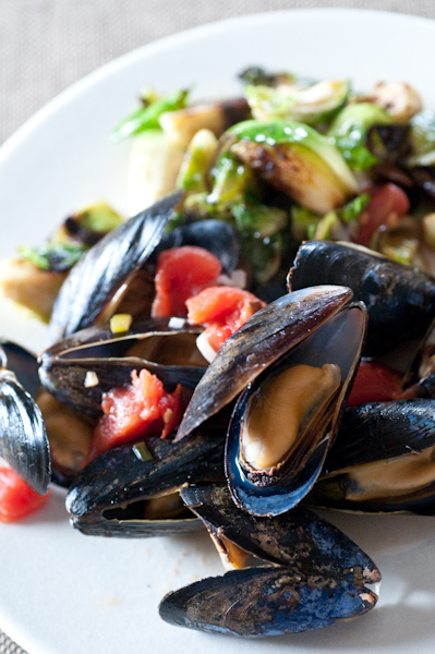Mussels & Brussels (Sprouts)!
