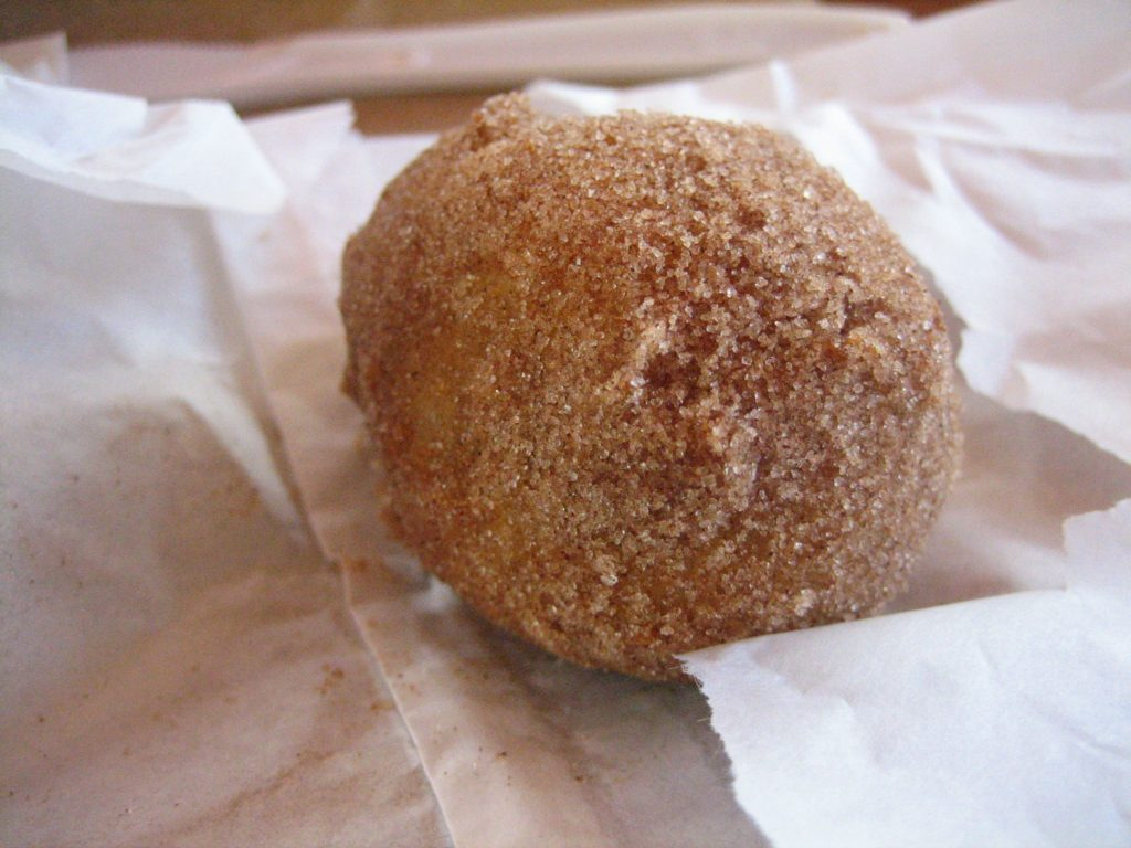 Deep fried Cadbury Creme Egg