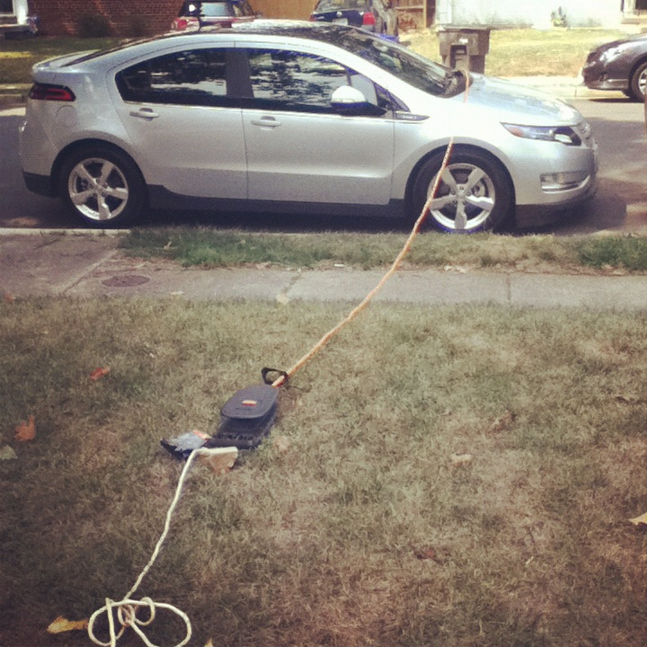 Chevy volt extension cord
