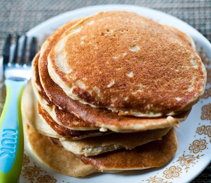 The VeggieVore's Protein Pancakes