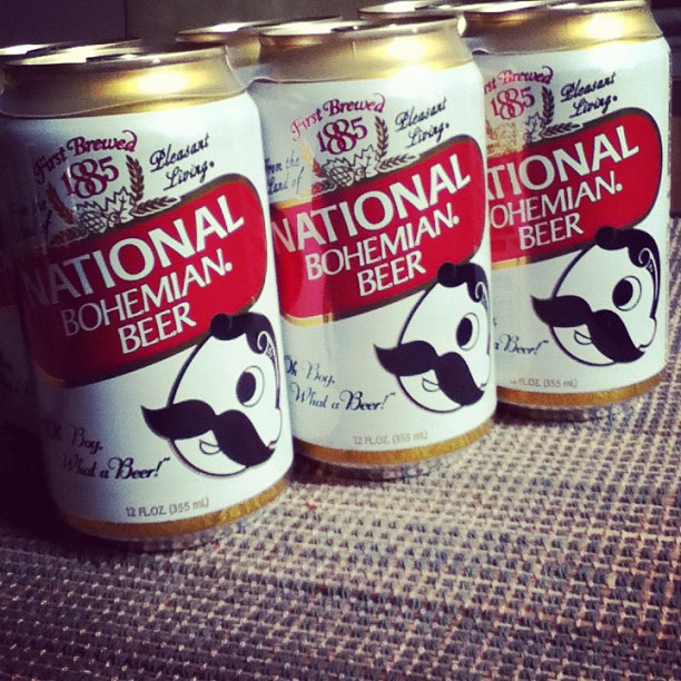 $5 for a 6-pack of pretty awful beer. Sorry, Natty Boh. Love the logo, hate the taste!