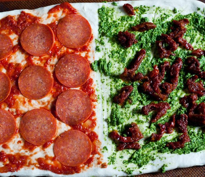 Split Personality Pizza