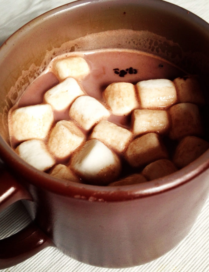 Perfect{ly Simple} Hot Cocoa with Vanilla Sugar