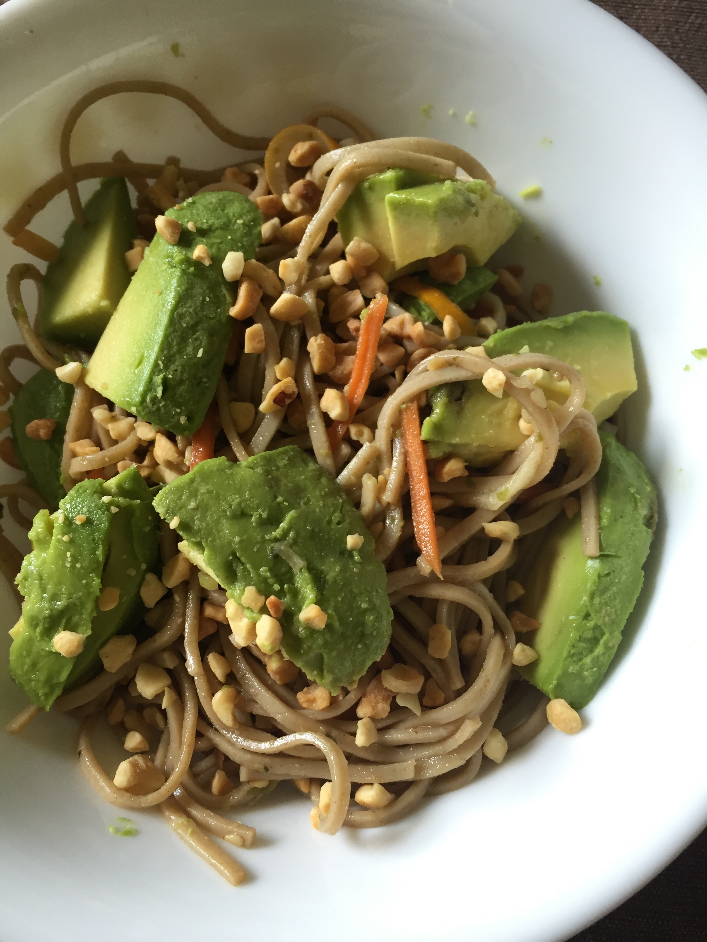 Chilled Sesame Soy Soba Salad