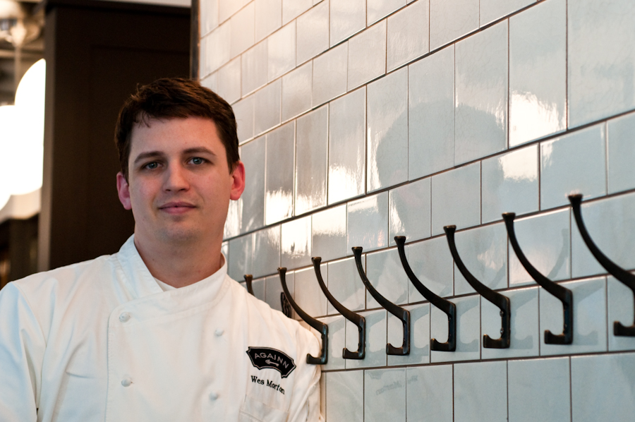 """Patience. It's a virtue."" – Wes Morton, Executive Chef, AGAINN – Part I"