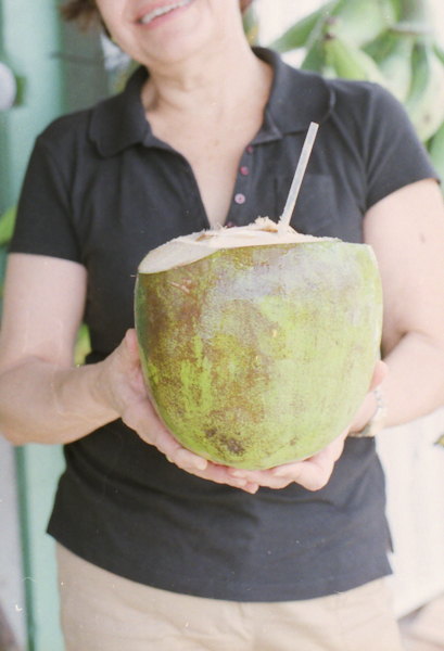 Coconut water…for real this time.