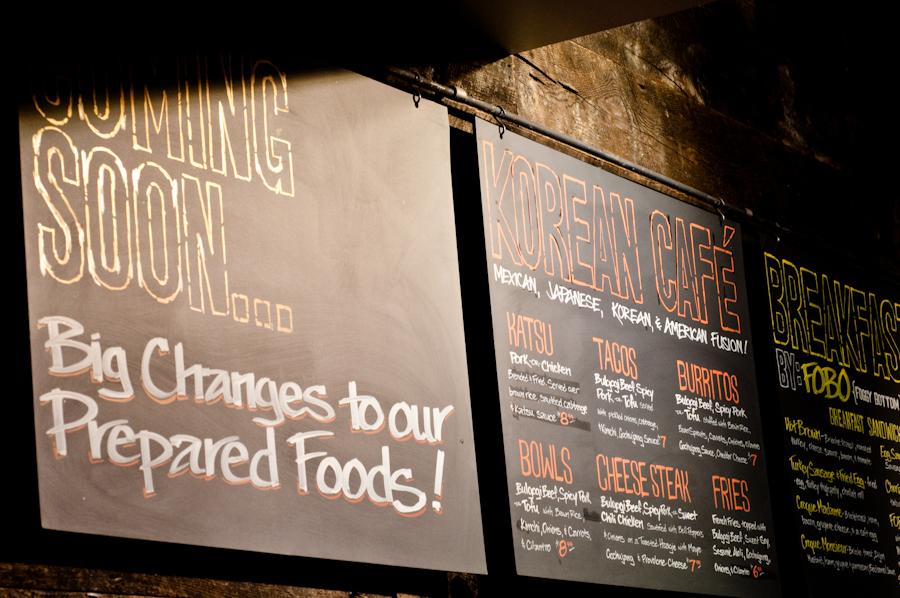 Whole Foods Foggy Bottom Korean Café Preview & A Kimchi Fried Rice-ipe!