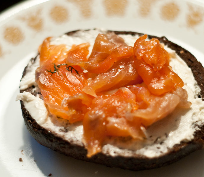 Home-Cured Lox