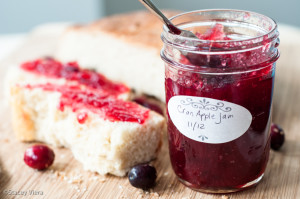 A jar of jam is the perfect holiday gift.