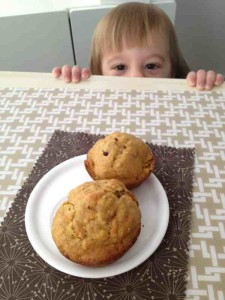 toddler wants healthy muffins