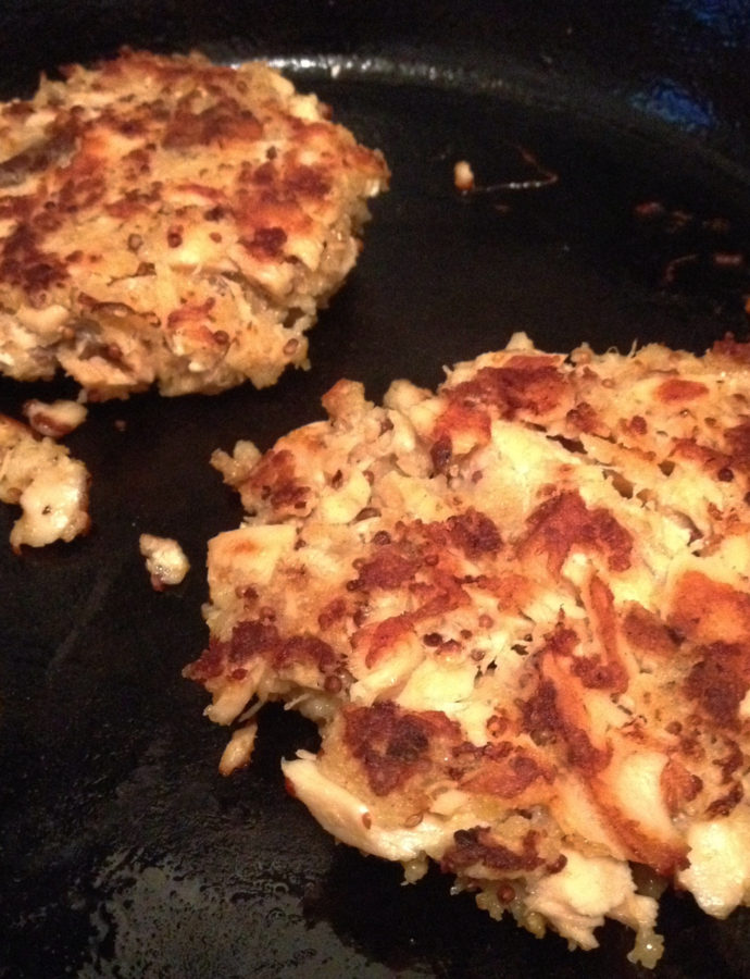 Piece-of-Cake Salmon Cakes