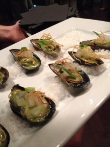 Prince Edward Island Mussels with Lemongrass and Green Curry
