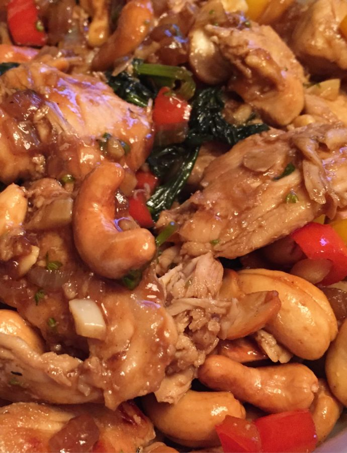 Better-than-the-Restaurant Cashew Chicken (or Tofu!)