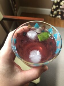 Tart Cherry Gin Rickey