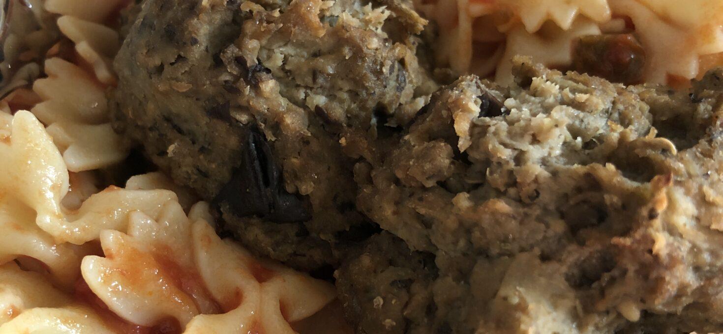 Eggplant Meat(less) Balls
