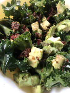 Christie's Kale & Sundried Tomato Salad